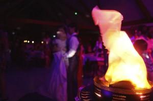 soirée dansante flamme