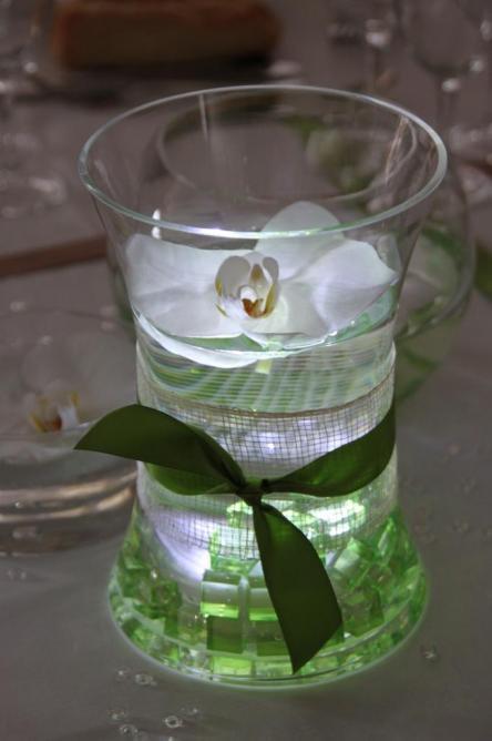 mobilier led vase sur table 2